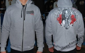 Bluza hooded zip Omerta Wanted